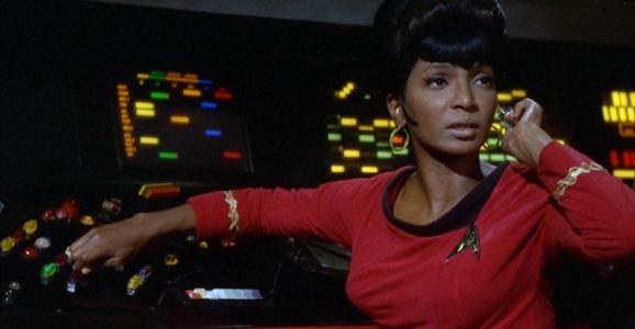 Uhura as Sci-Fi Female