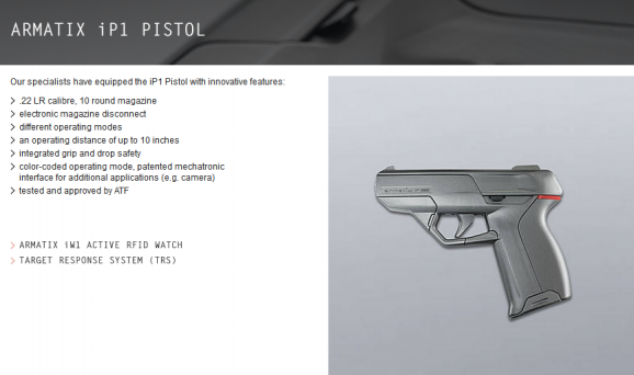 armatix pistol