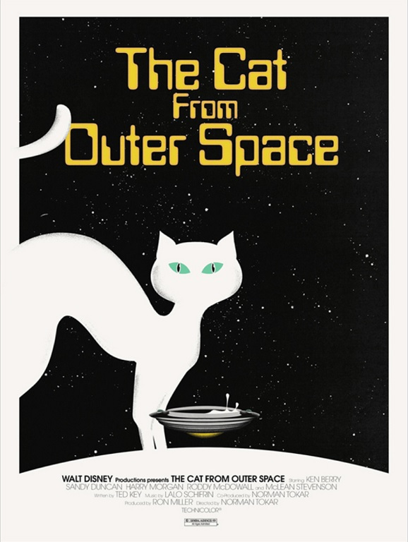 the cat from outer space mondo