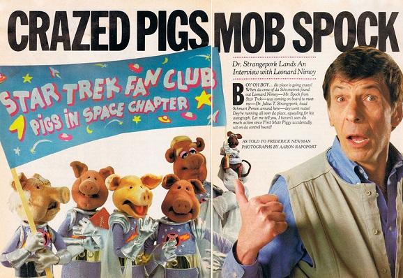 muppet magazine leonard nimoy