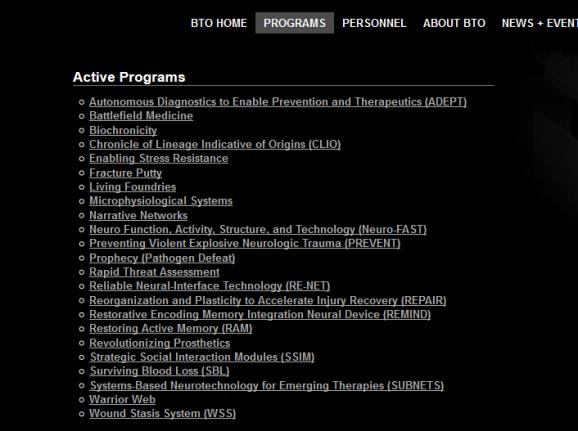 BTO programs