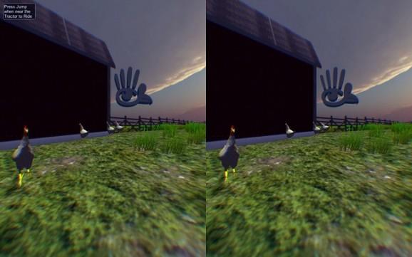 Chicken Oculus 2