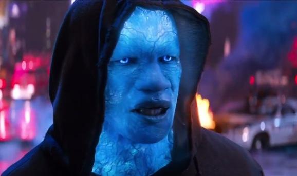 Jamie Foxx in The Amazing Spider-Man 2