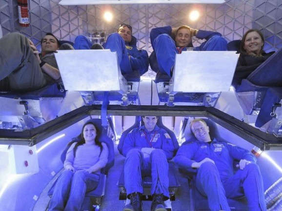 crew accommodations in the Dragon spacecraft