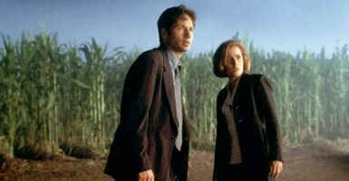 x-files fight the future