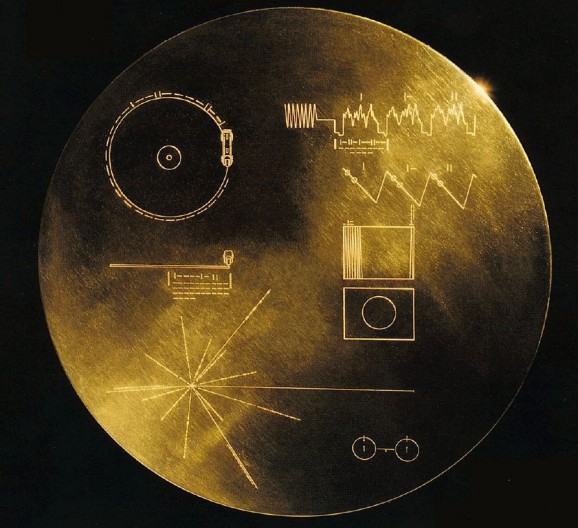 golden record cover