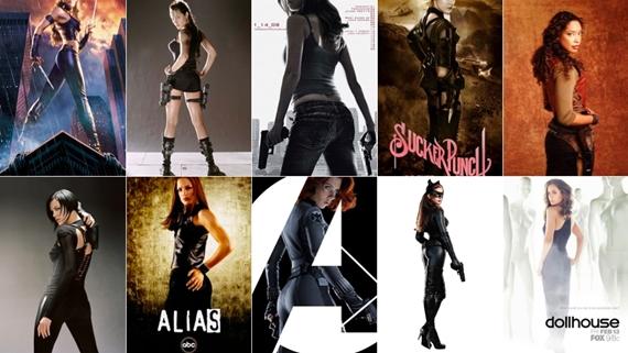 Actresses-Behinds