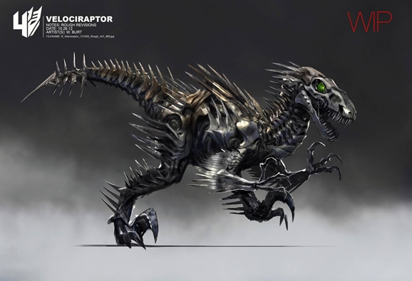Transformers Age Of Extinction Concept Art Shows Off