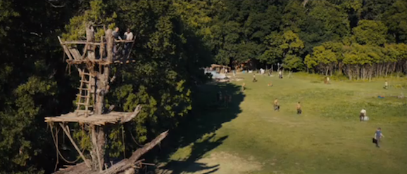 The Maze Runner Clips Shows You Around The Glade | Giant ...