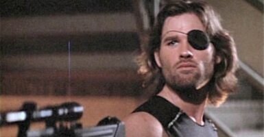 snake plissken escape from new york
