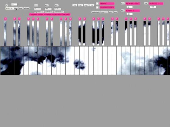 cloud piano