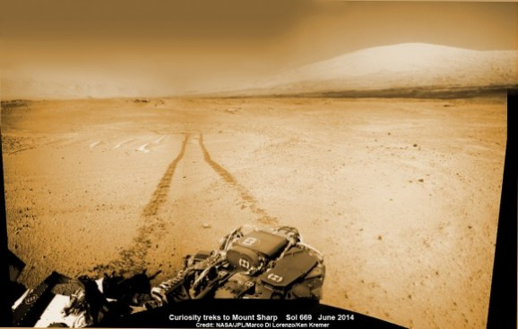 going to mt sharp
