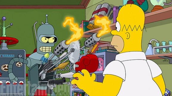 Futurama The Simpsons
