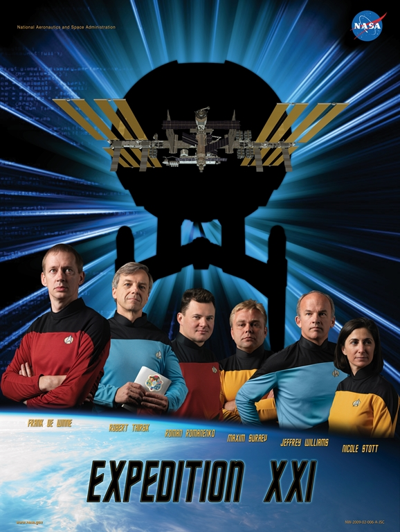 Expedition 21 crew poster