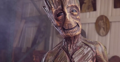 Chainsaw Groot