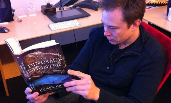 Elon reading