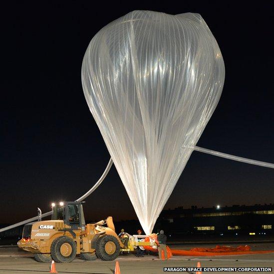 eustace balloon