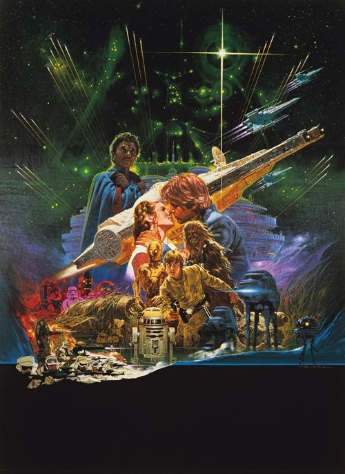 Rare Star Wars Art Sees The Light Of Day For The First ...