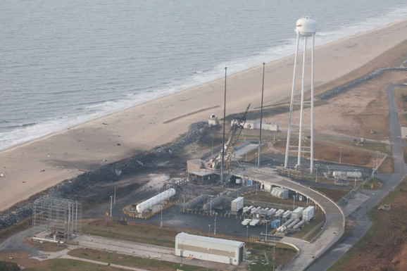 Antares' launch pad