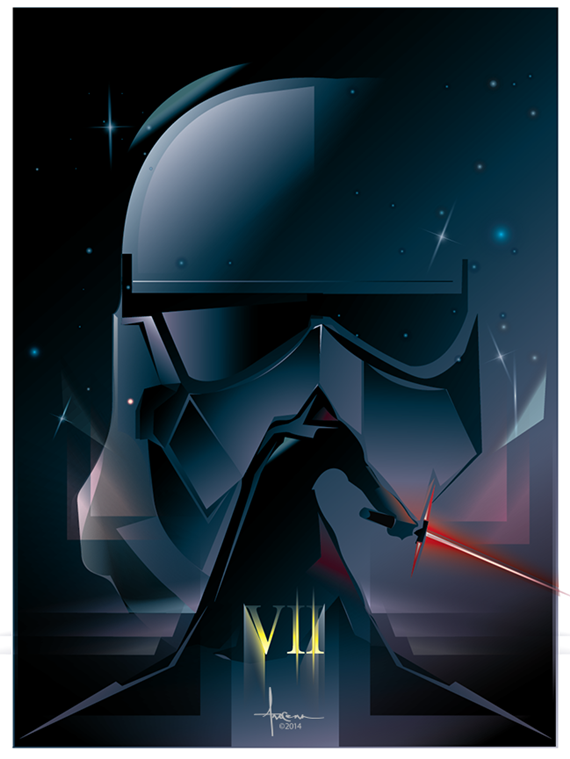 STAR-WARS_EP7_Orlando-Arocena_vector_2014sketch