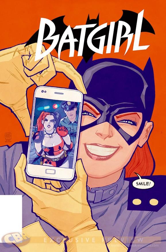 Best harley quinn covers - Batfgirl selfie variant