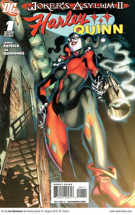 Best harley quinn covers - Harley Quinn 1