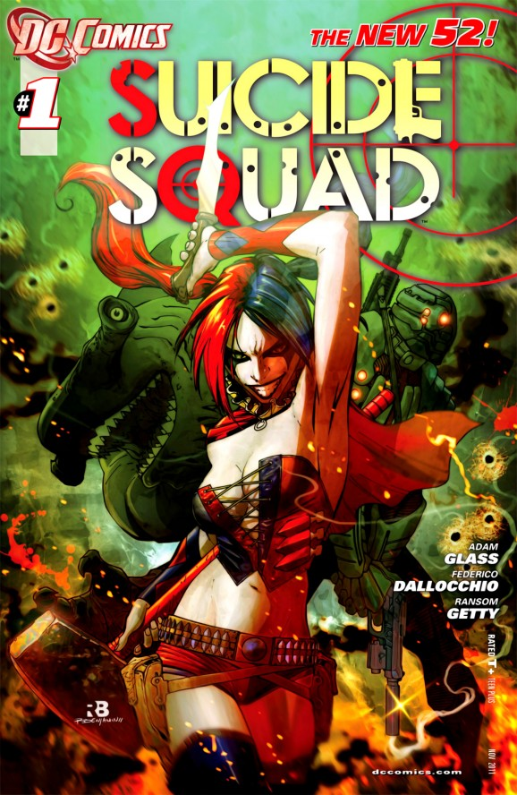Best harley quinn covers -suicide squad