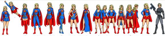 Supergirl costume history 1