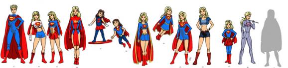 Supergirl costume history 2