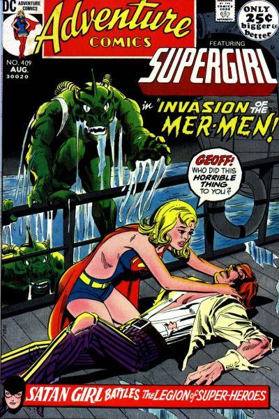 supergirl costume history-adventures comics 409