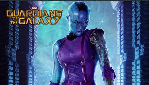 Nebula guardians of the galaxy 2