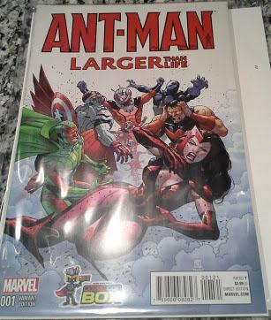 antman comic