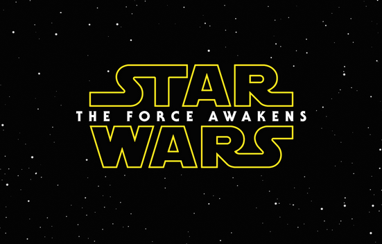 Force Awakens logo wallpaper small