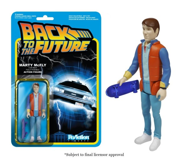 back to the future merchandise - action figure