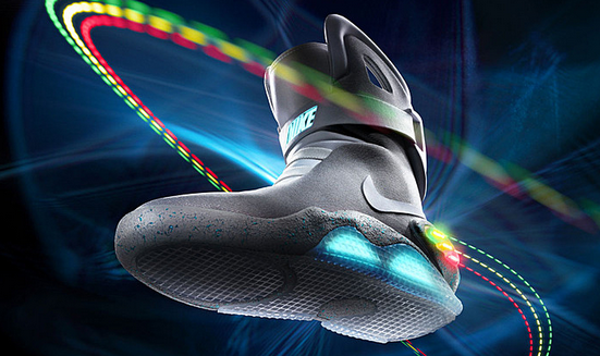 back to the future merchandise - nike sneakers