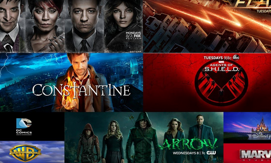 new comic tv shows 2016