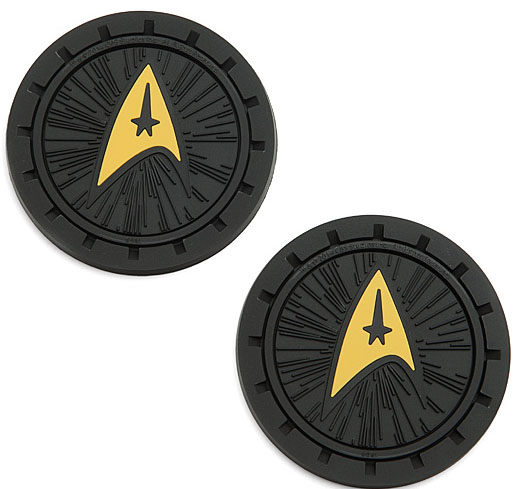 Star Trek Delta Logo Auto Coaster Set