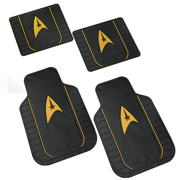 Star Trek Automotive Floor Mats