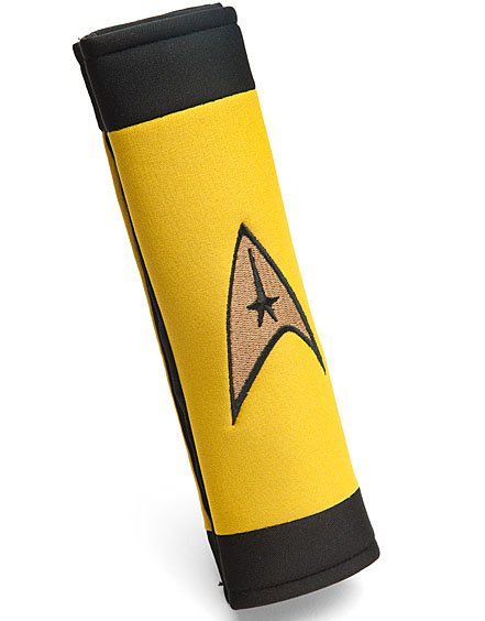 Star Trek Delta Logo Seat Belt Cover / Pad: Captain