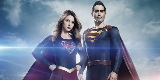 superman and supergirl shown