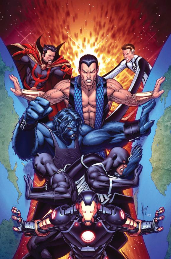 New Avengers volume 3