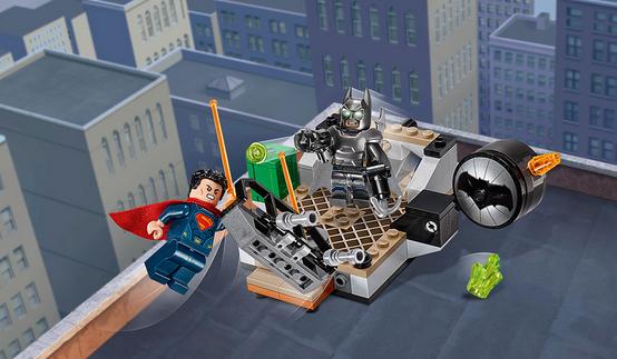 batman vs superman lego clash of the hero 2016