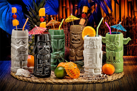 Star Wars tiki cups