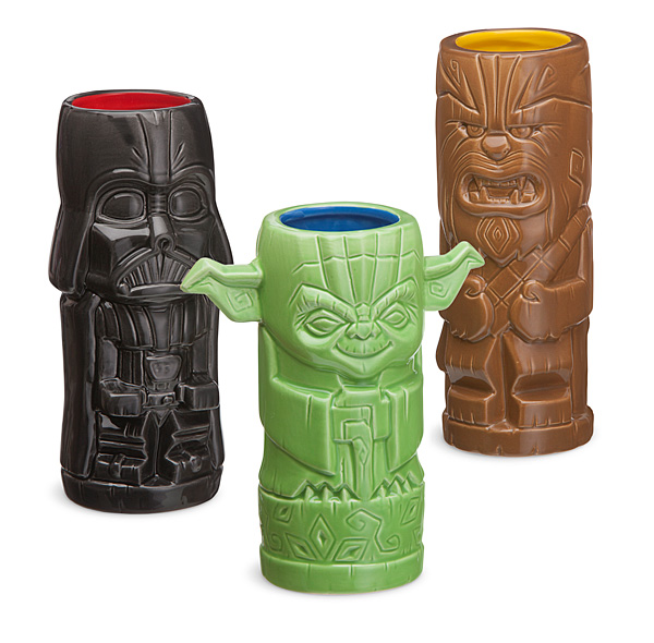 close up star wars tikis