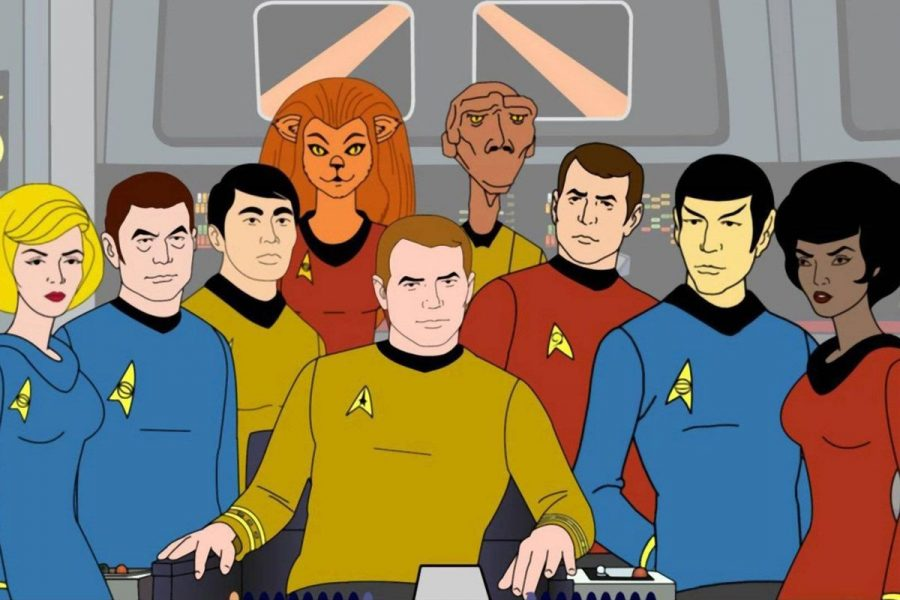 Star Trek animated ranking