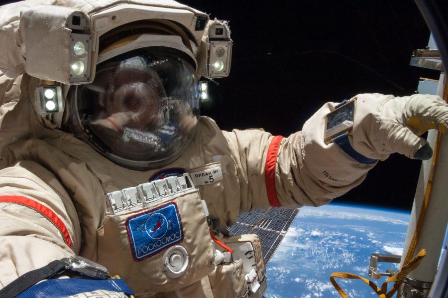 Martian cosmonaut