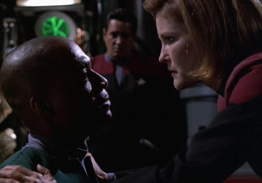 Janeway in Voyager's Best Episode