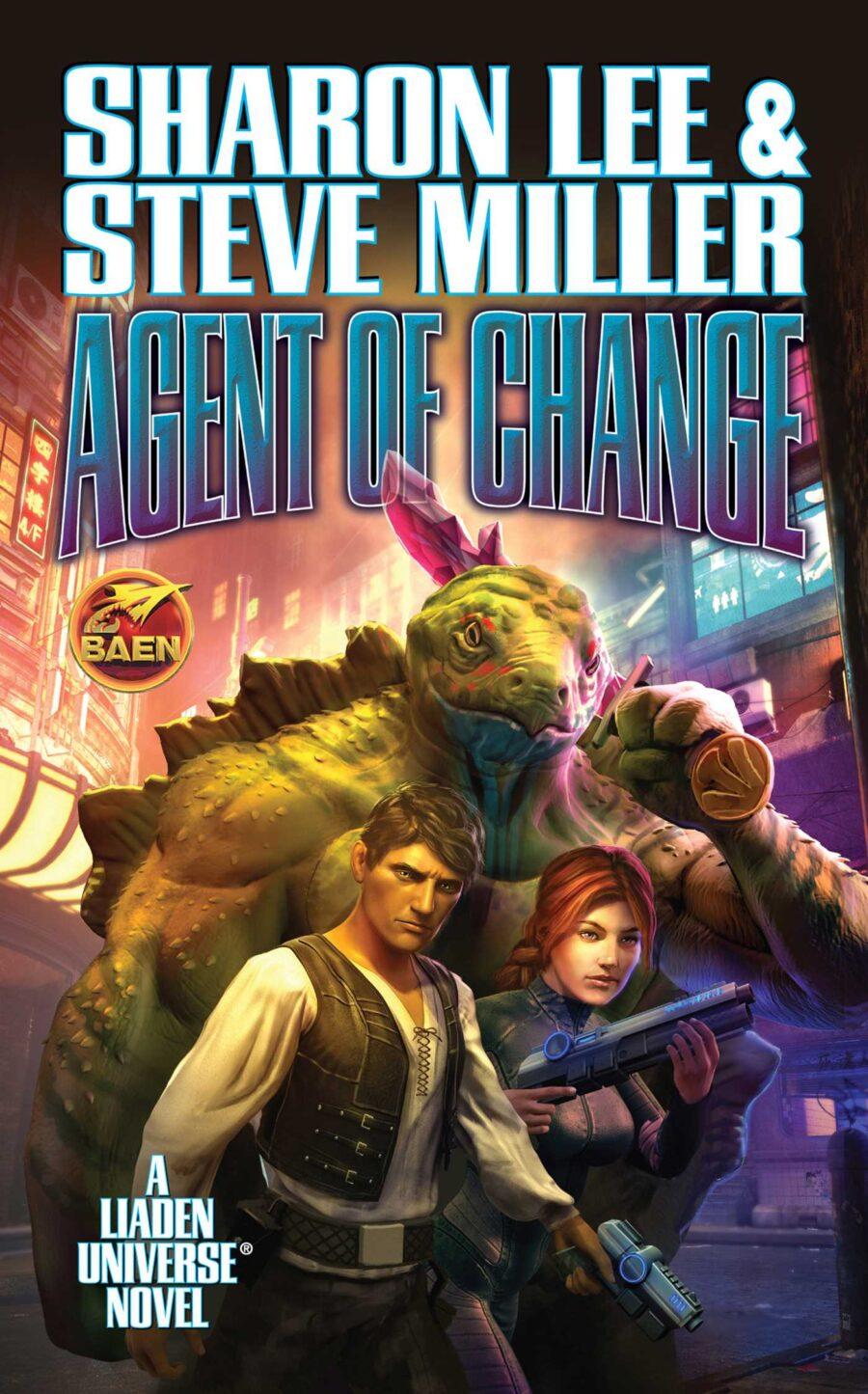 Sci-Fi Novel Agent of Change