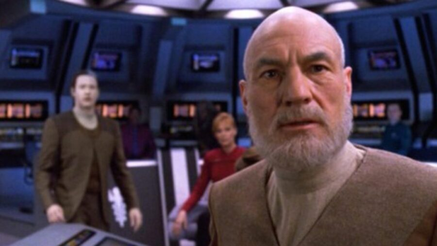 Old Picard in All Good Things