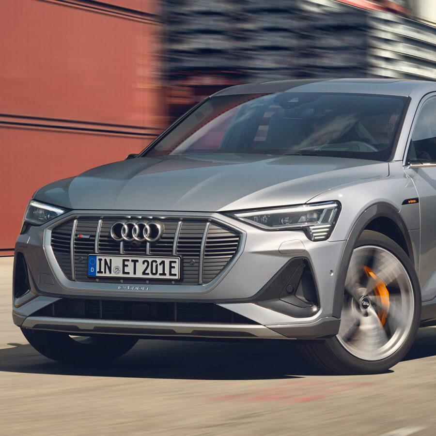 Audi's electric car